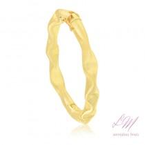 Bracelete semijoia fina algema design rasqueado