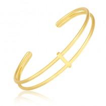 Bracelete Semijoia  Festivity - ouro amarelo